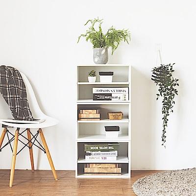 完美主義 創意單格二層空櫃/單格櫃/書櫃/置物櫃(5色)