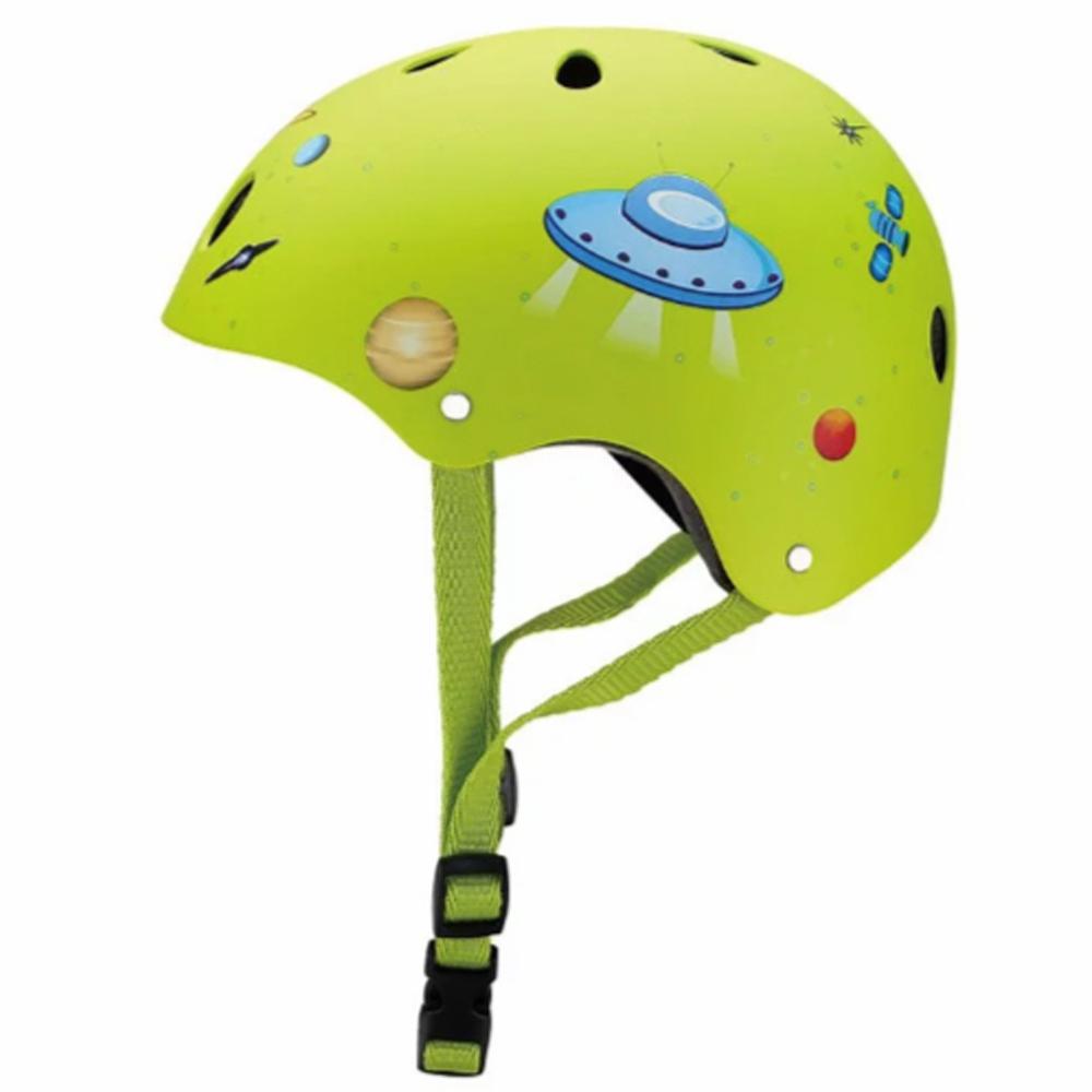 GLOBBER 哥輪步 安全帽 (太空綠)