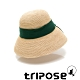 tripose AVA 100% Raffia手工拉菲草帽(飾帶-綠) product thumbnail 1