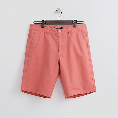 Hang Ten - 男裝 - 百慕達休閒短褲-橘色