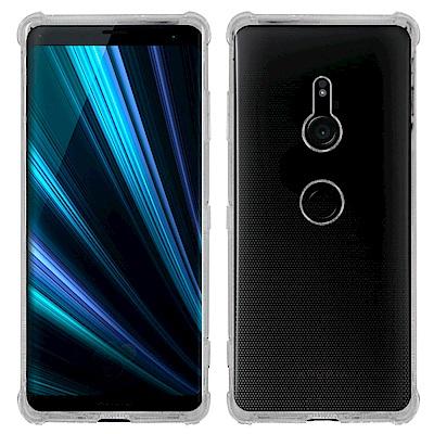 Metal-Slim Sony Xperia XZ3 防摔抗震空壓手機殼