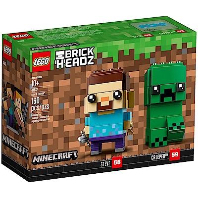 樂高LEGO 積木人偶系列 - LT41612 Steve & Creeper
