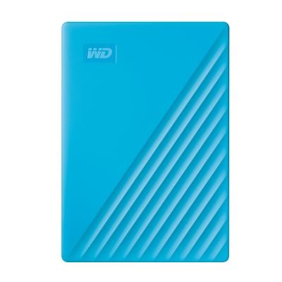 WD My Passport 4TB(藍) 2.5吋行動硬碟