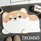 TROMSO珪藻土動物造型吸水地墊-可愛小柴犬 product thumbnail 1