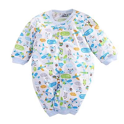 印花薄款長袖連身衣 k50628 魔法Baby