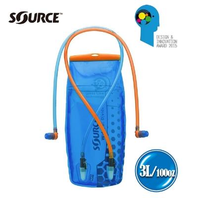 以色列SOURCE 雙管抗菌水袋DIVIDE 2061520103 (3L) (登山、健行、單車、慢跑)