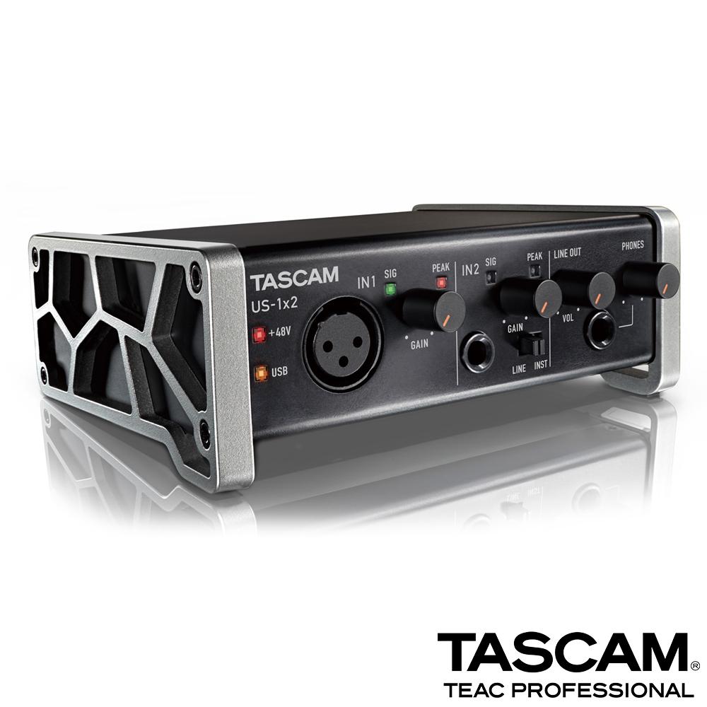【日本TASCAM】USB 錄音介面 US-1x2