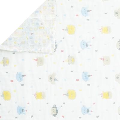 奇哥 動物派對六層紗冬夏兩用被 105×135cm