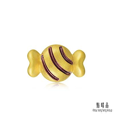 點睛品 Charme 甜蜜蜜可愛糖果 黃金串珠