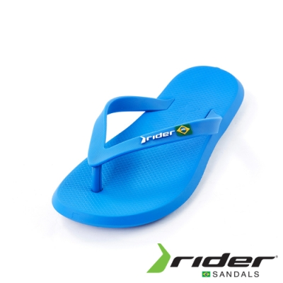 Rider 休閒舒適人字夾腳拖鞋(男款)-藍