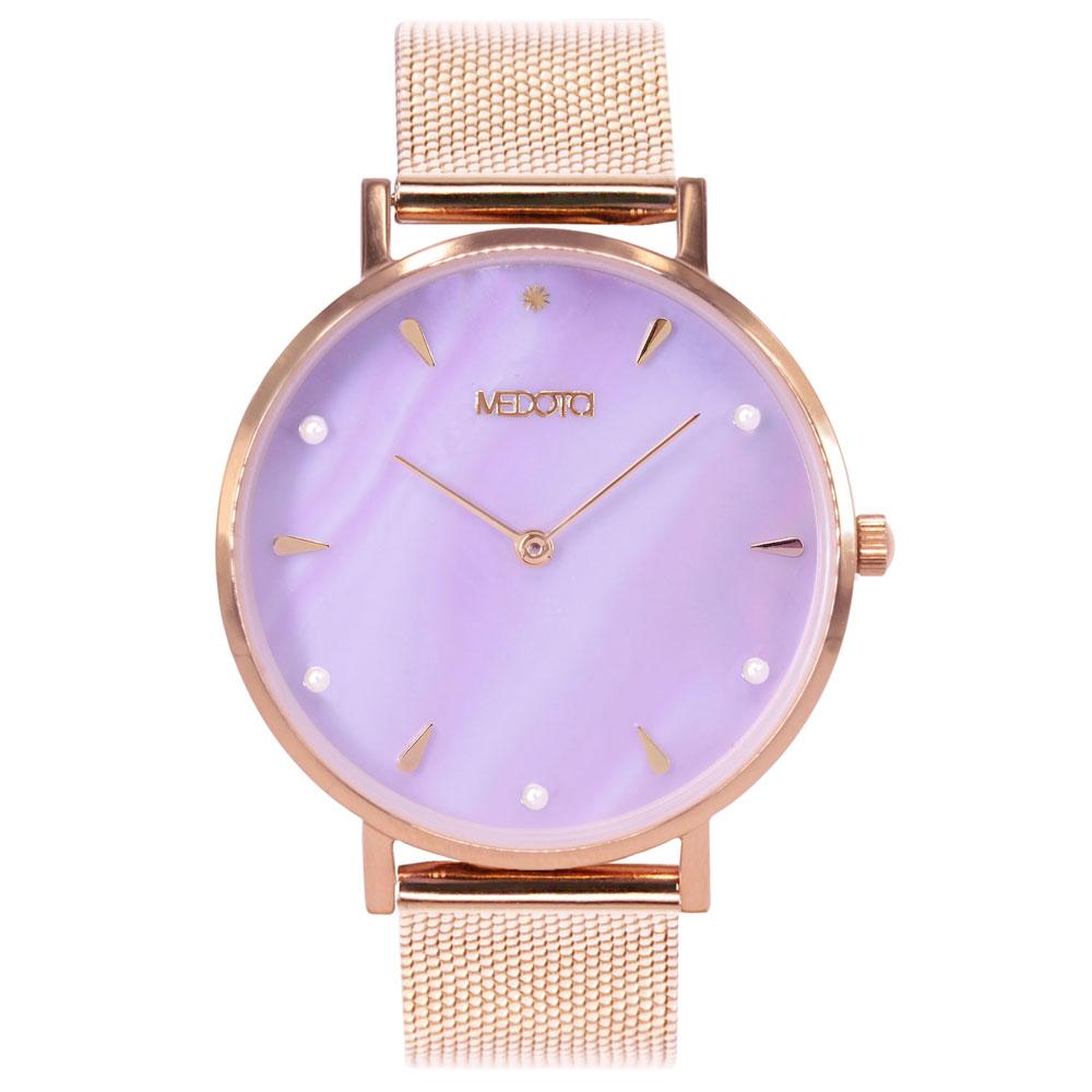 MEDOTA Thetis 系列紫色貝殼面簡約時尚女錶