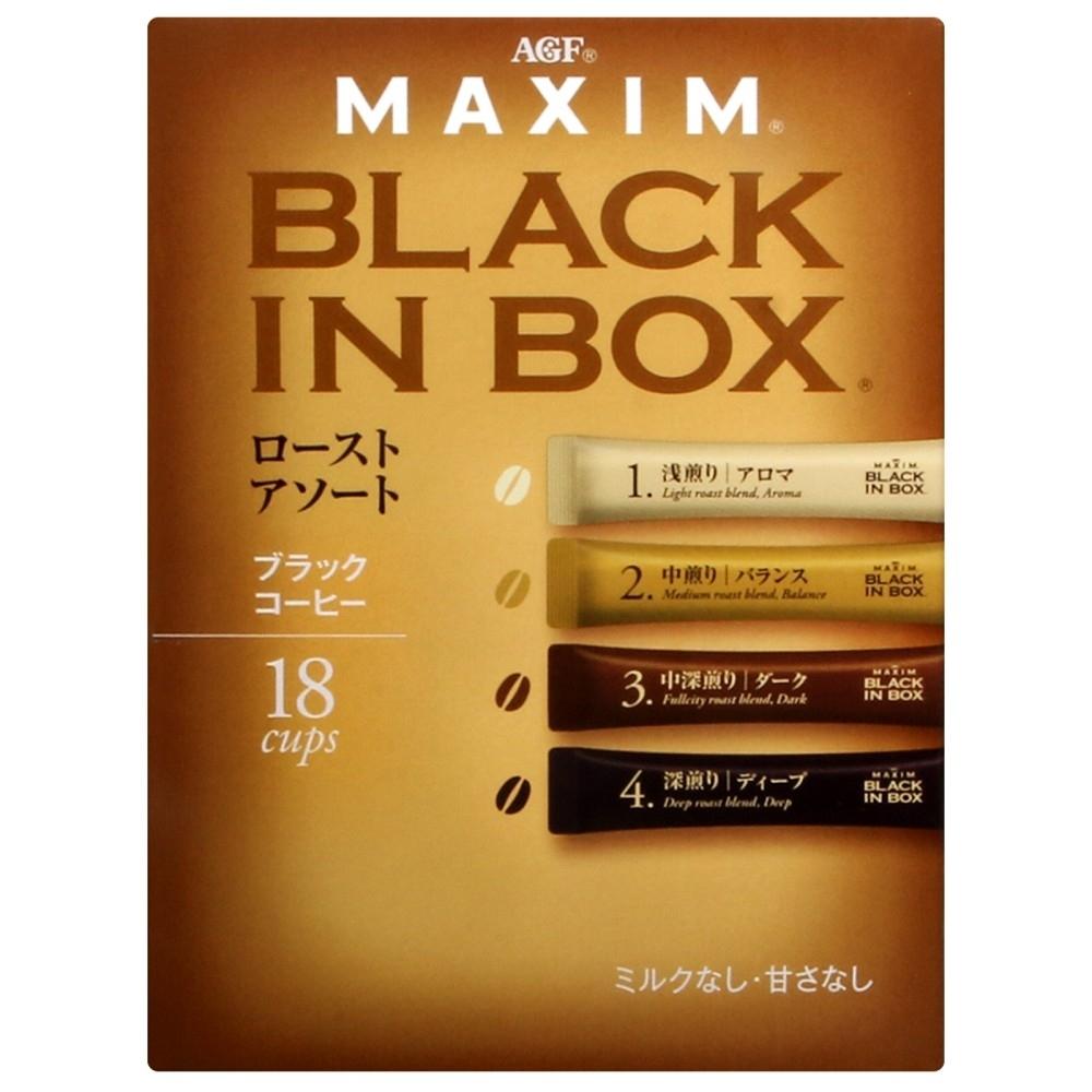 AGF MAXIM 4種風味綜合黑咖啡(36g)