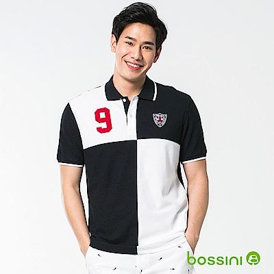 bossini男裝-短袖經典POLO衫05海軍藍