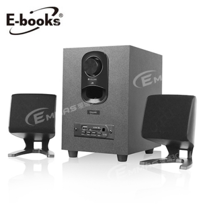E-books D32 完美音域藍牙2.1聲道多媒體音箱 時尚設計完美呈現