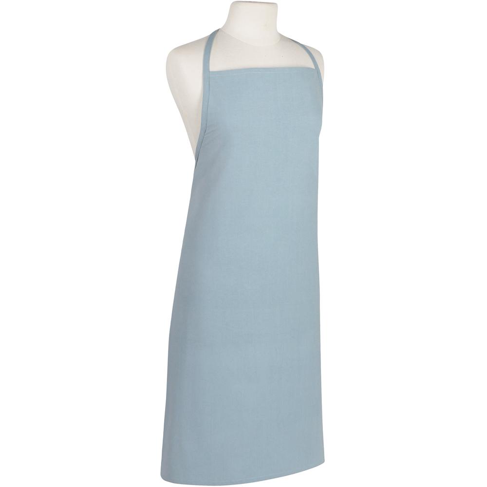 《NOW》純色平口圍裙(藍綠)