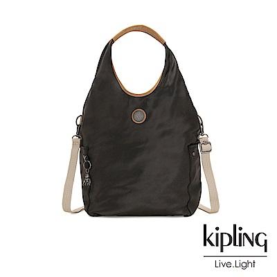 Kipling 邊緣地帶極致黑肩背側背包-URBANA-EDGELAND系列