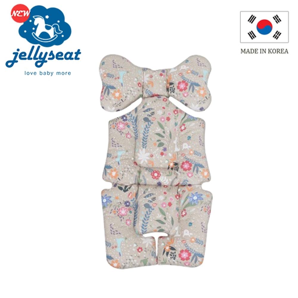 韓國jellyseat 全方位3D超彈力嬰兒推車座墊-四季款/多色可選