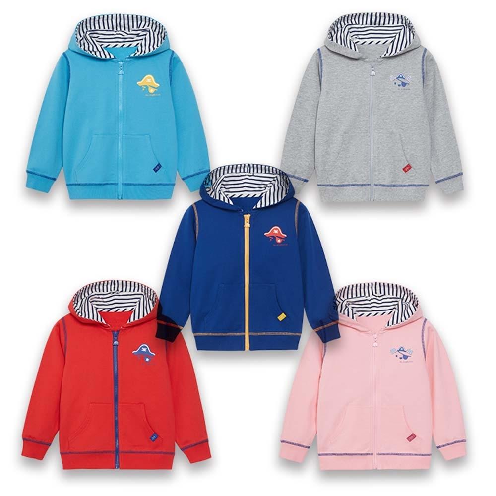 【麗嬰房】EASY輕鬆系列 海盜樂園經典針織外套 (76cm~130cm)