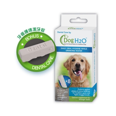 Dog & Cat H2O濾水機潔牙錠-犬貓共用