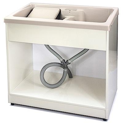 Aaronation 新型雙槽塑鋼洗衣槽 GU-A1002