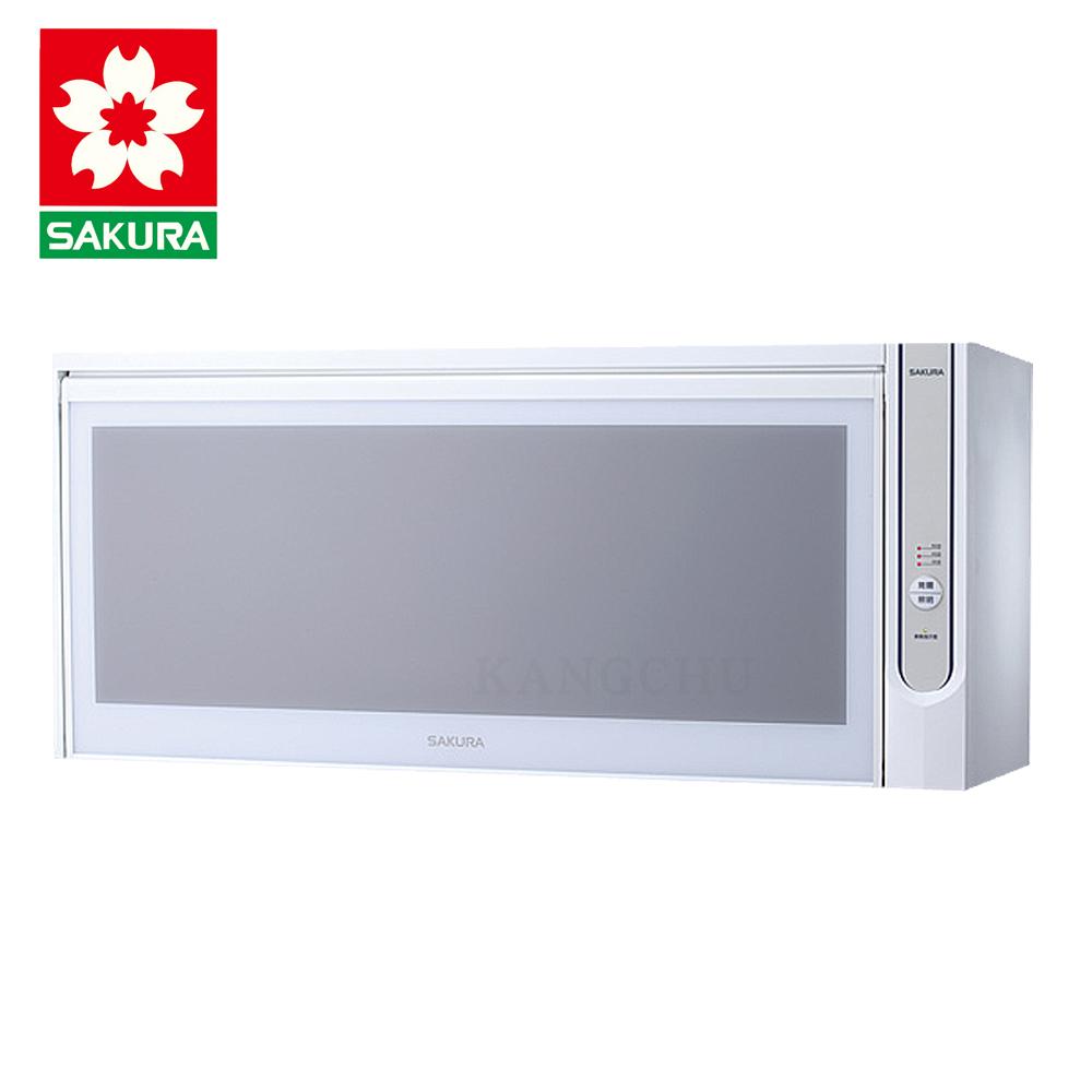 櫻花牌 Q7565AWL 不鏽鋼碗筷架80cm臭氧型懸掛式烘碗機