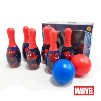 凡太奇 MARVEL漫威正版授權蜘蛛人保齡球玩具組 ADJY36126-S