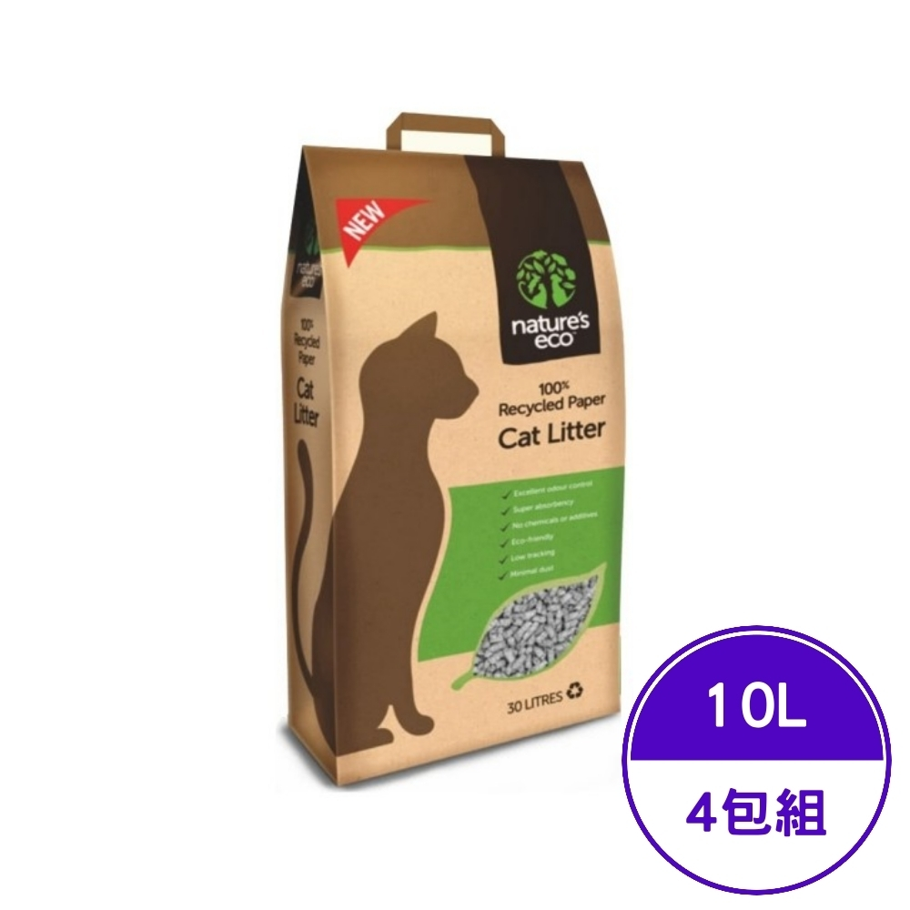 nature′s eco易可-紙砂 10L (4包組)