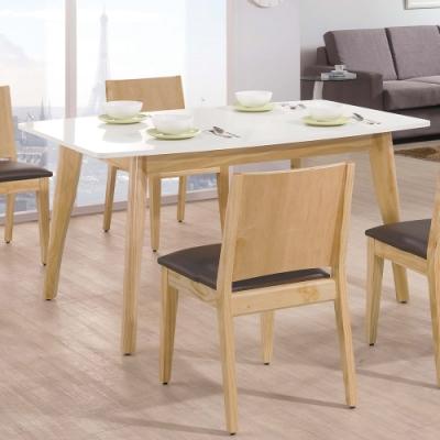 H&D 奧斯卡雙色5尺餐桌