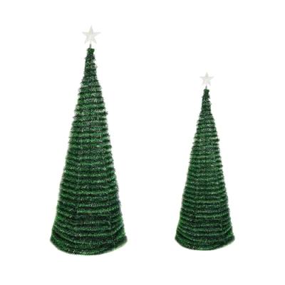 【點照明】聖誕樹 智能控制 附七彩聖誕燈 大星星燈(1米8 )