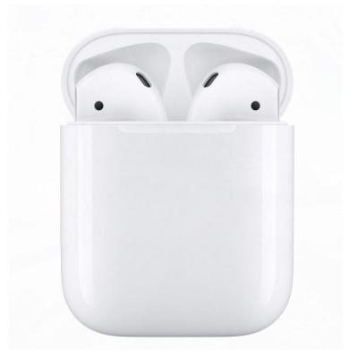 [時時樂]Apple AirPods 藍芽耳機 (全新2019款搭配有線充電盒)-白色系