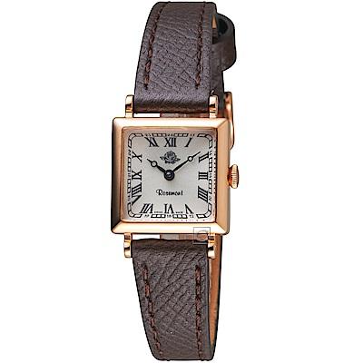 玫瑰錶Rosemont NS懷舊系列時尚腕錶(TNS 11-RWR-GDB)