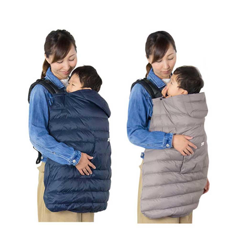 日本西村媽媽 Lucky AIR 輕羽絨 3WAY 多功能披風 附收納袋(2色可選)