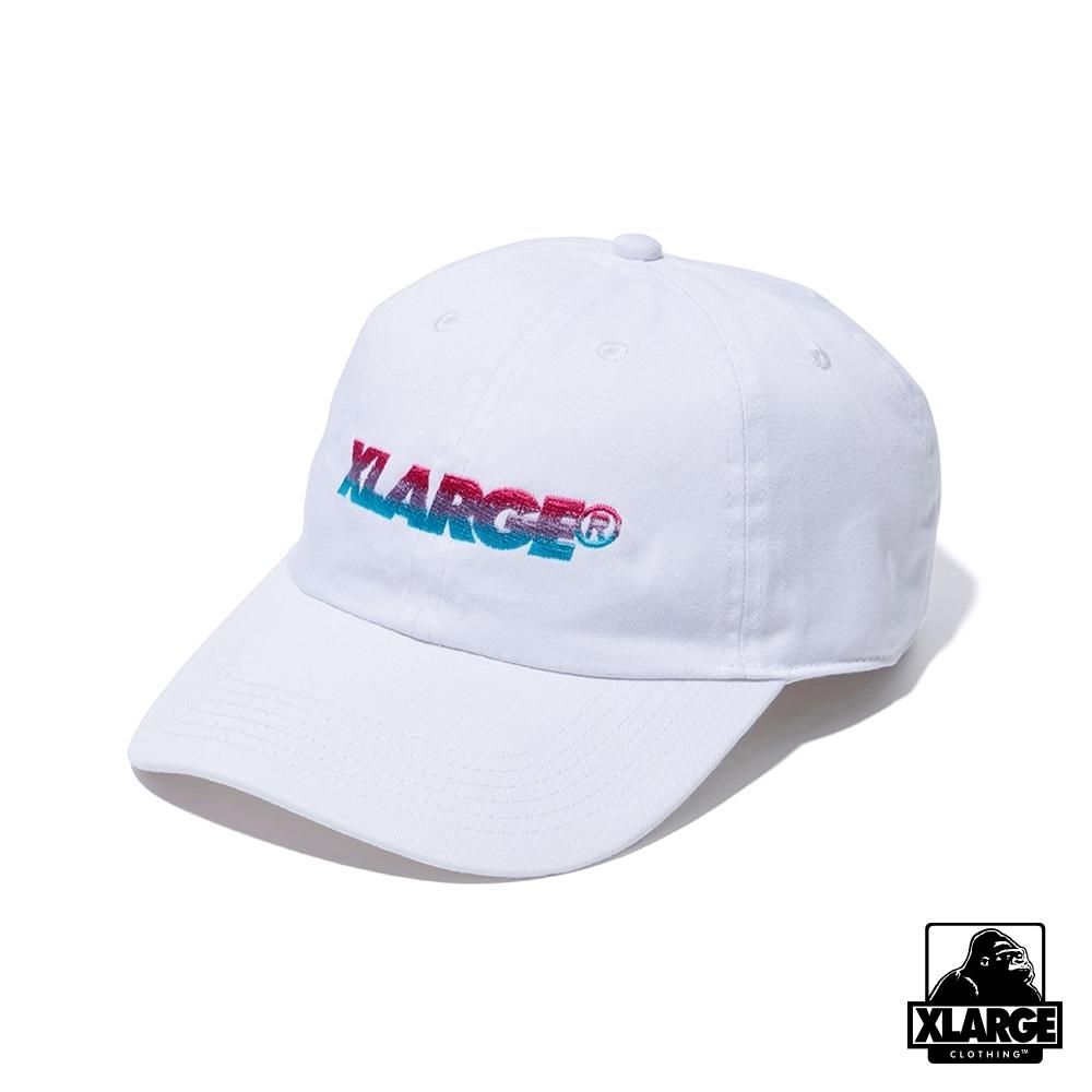XLARGE GRADATION EMBROIDERY 6PANEL CAP-經典老帽