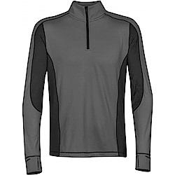 加拿大STORMTECH男子漫跑者吸排快乾恆溫上衣-灰