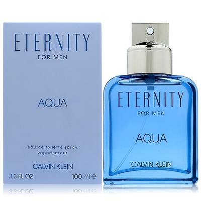 CALVIN KLEIN ETERNITY AQUA 永恆之水男性淡香水 100ML (平行輸入)