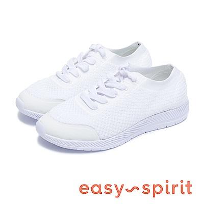 Easy Spirit GARABI 針織面運動休閒鞋-白色