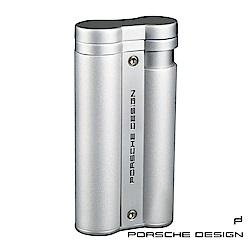 保時捷Porsche Design P3633花火焰雙筒打火機(銀)