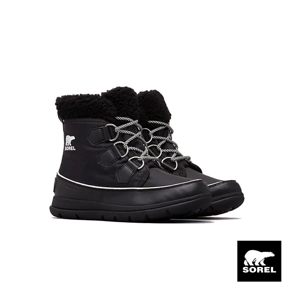 SOREL-探索系列女款運動短靴-黑色