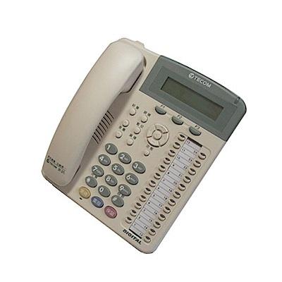 TECOM 東訊 24鍵顯示型話機 SD-7724E (東訊總機專用)