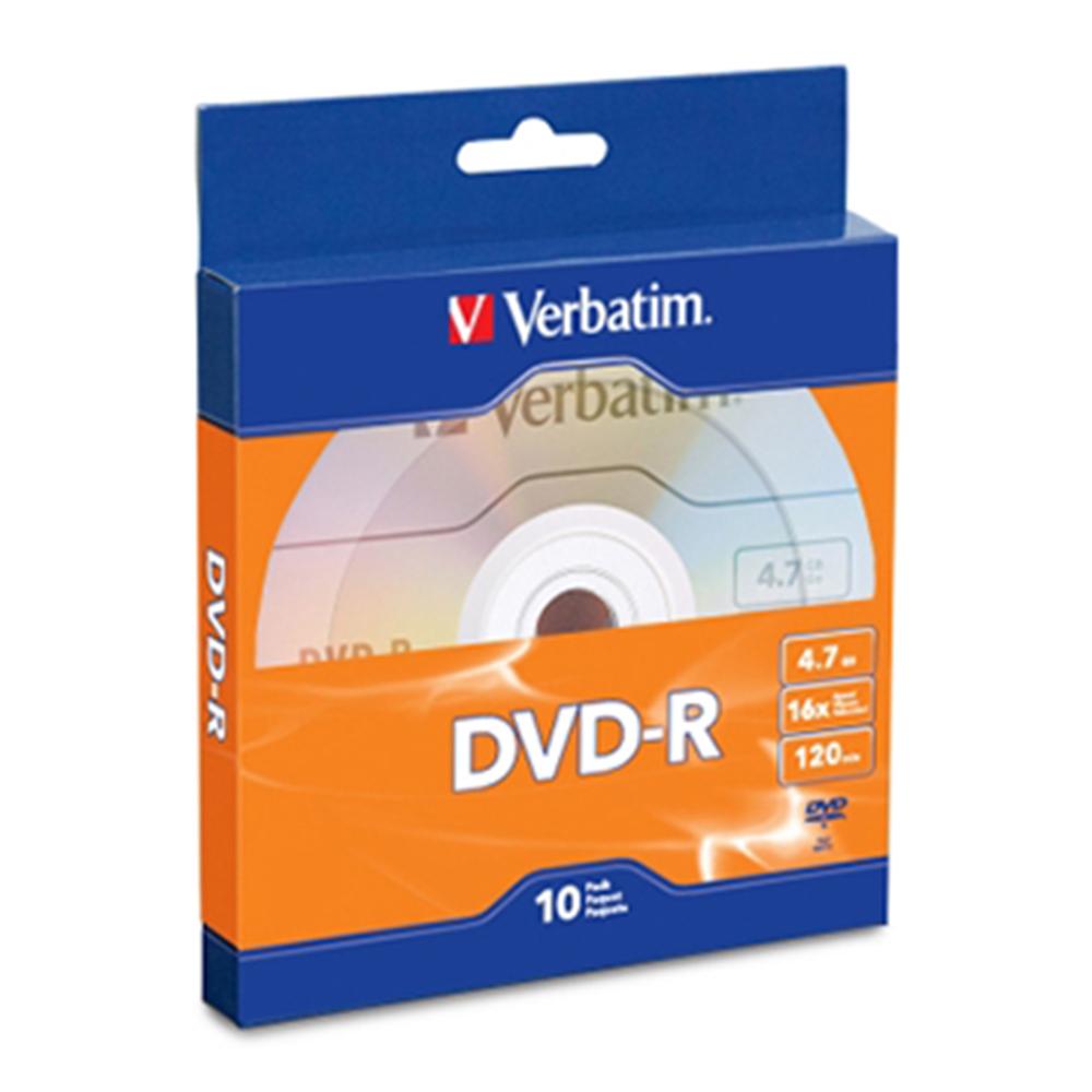 Verbatim 威寶 16X DVD-R光碟片 10片盒裝