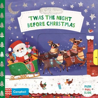 First Stories: Twas The Night Before Christmas 聖誕節前夕操作書