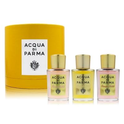 Acqua di Parma 帕爾瑪之水  NOBILE 高貴系列香水禮盒 20mlx3入