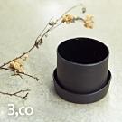3,co 水波蓋杯120ml - 黑