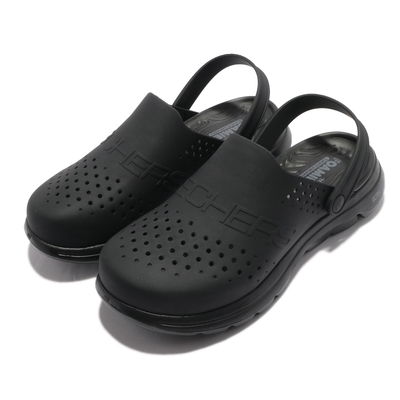 Skechers 休閒鞋 Go Walk 5-Unmatched 男鞋 水鞋 避震 緩衝 透氣 排水 兩種穿法 黑 243010BBK