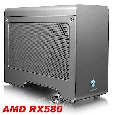AKiTiO Node Pro PCIe 轉接盒(含 AMD RX580 顯卡)