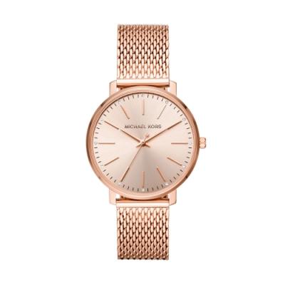 MICHAEL KORS紐約時尚米蘭帶腕錶MK4340
