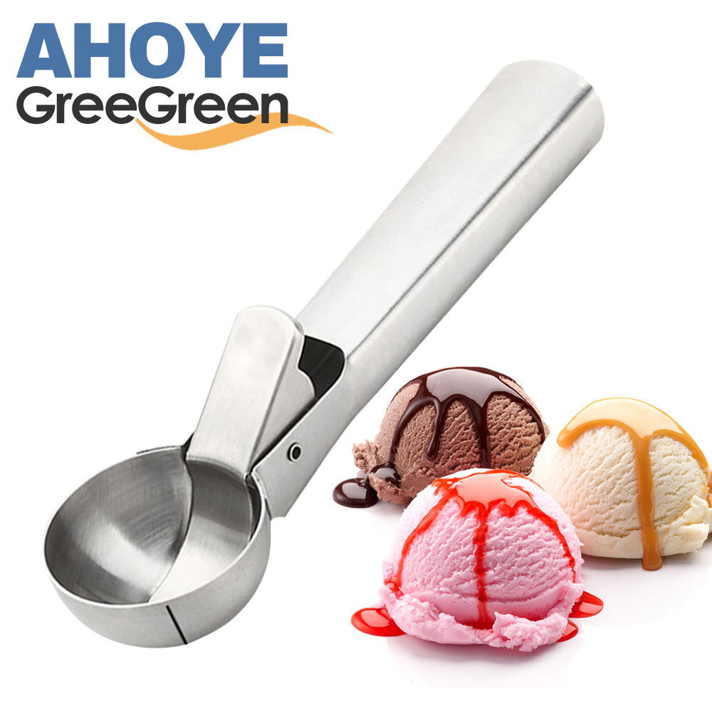 GREEGREEN 不鏽鋼冰淇淋勺