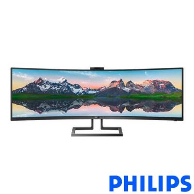 Philips 499P9H1 49型 VA曲面電競螢幕