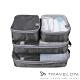【Travelon】PACKING衣物收納袋四件組TL-43440深灰/外出露營旅遊/居家分類收納 product thumbnail 1