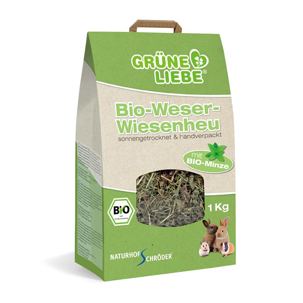 德國施羅德 - 威悉有機薄荷牧草/歐盟ECOCERT有機認證-1kg-Minze